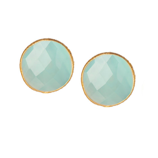 Mini Stud Gemstone Earrings