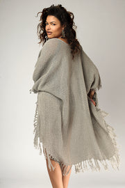 Quartz High Low Casual Kimono