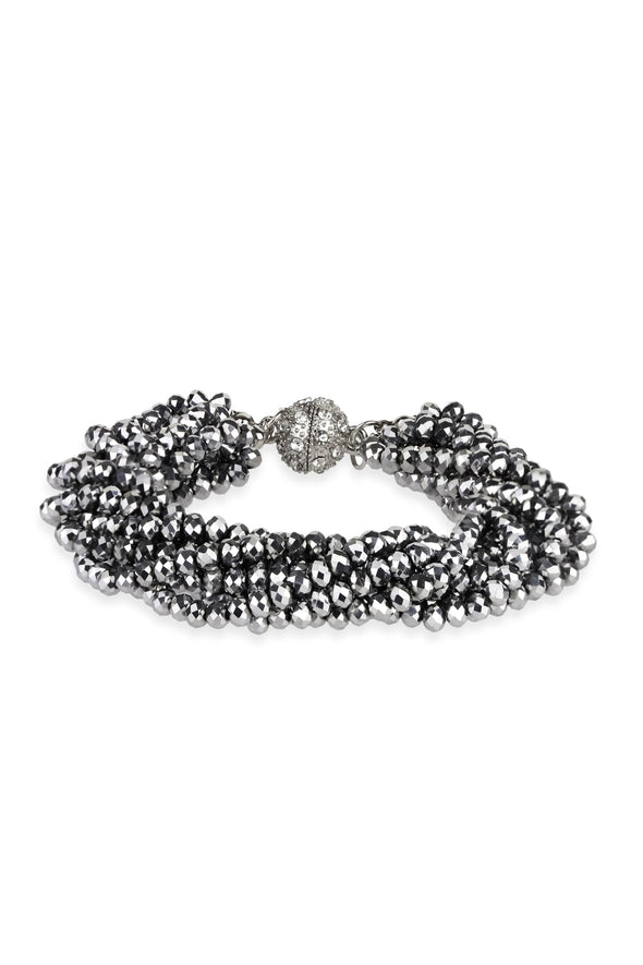 Simply Crystal Beaded Bracelet