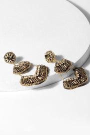 Ara Beaded Statement Earring