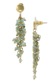 Florus Beaded Dangle Earring