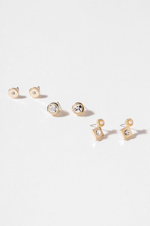 Tertiary Stud Earring Set