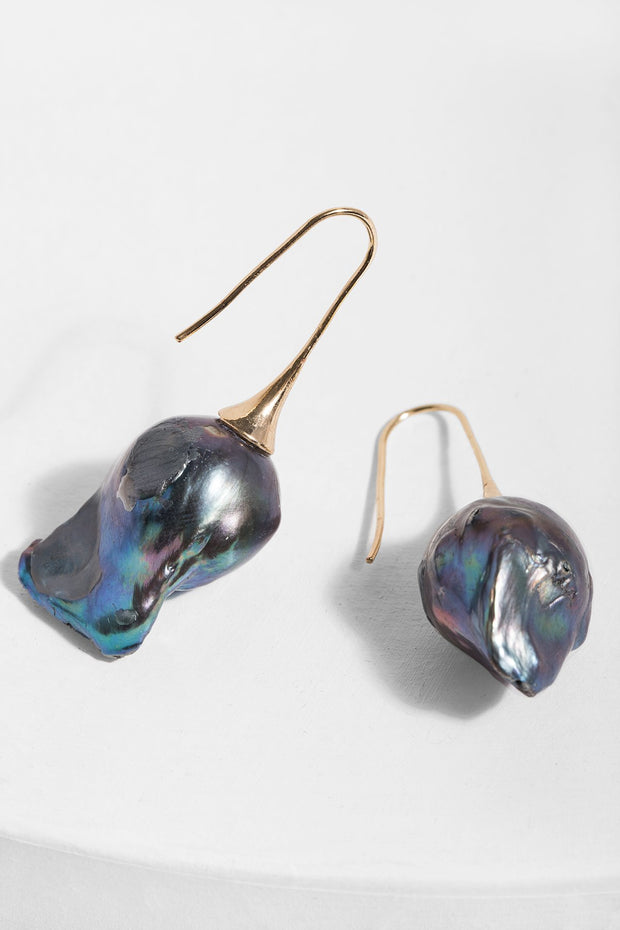 Baroque Drop Earring
