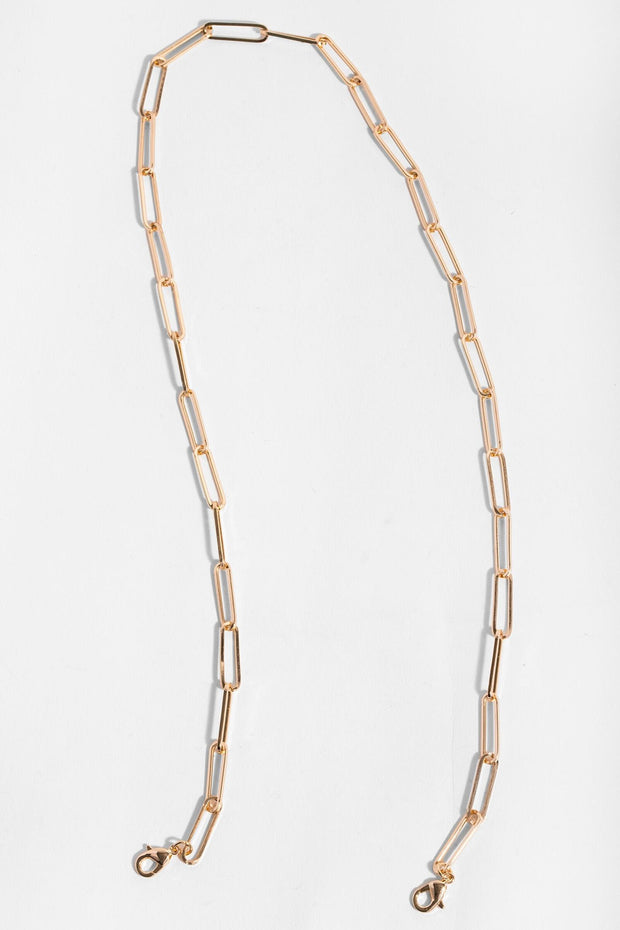Linked-Up Convertible Necklace Mask Holder