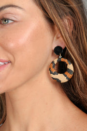 Everyday Safari Raffia Earring