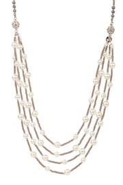 Convertible Layer Pearl Necklace