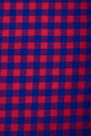 Scough Red Gingham Bandana with Filter