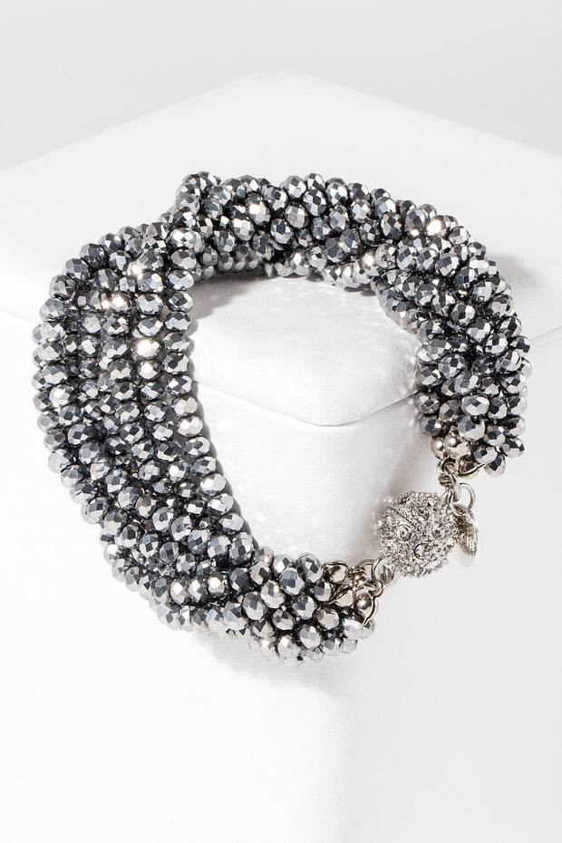 Simply Crystal Beaded Bracelet 1