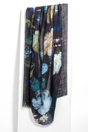 Twilight Garden Printed Scarf