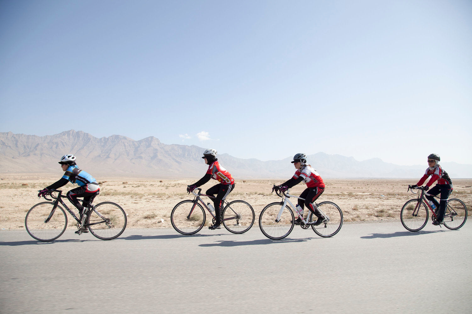 Afghan Cycles — Change On Two Wheels