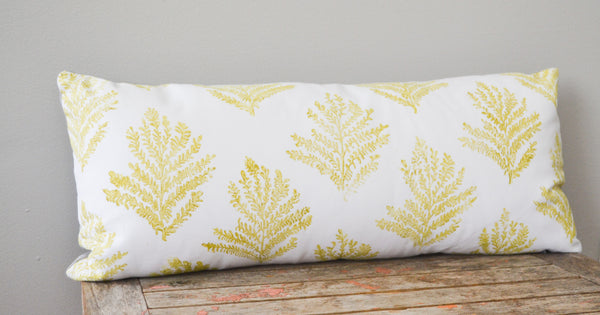 Frond Lumbar Pillow