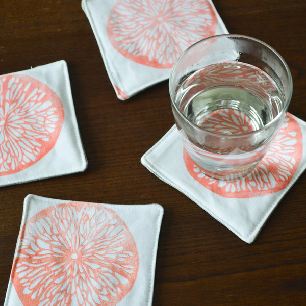Lemonslice Coaster Set