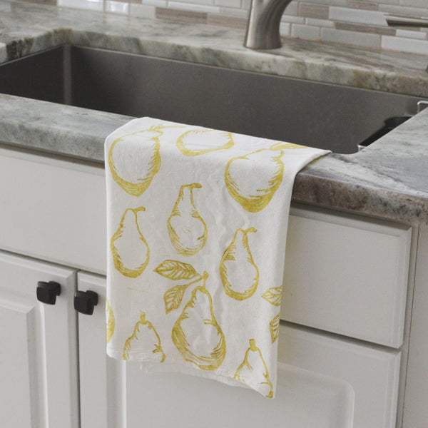 Pear Flour Sack Towel