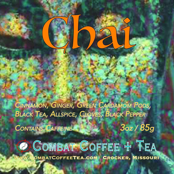 Chai Tea - Loose Leaf - 3oz