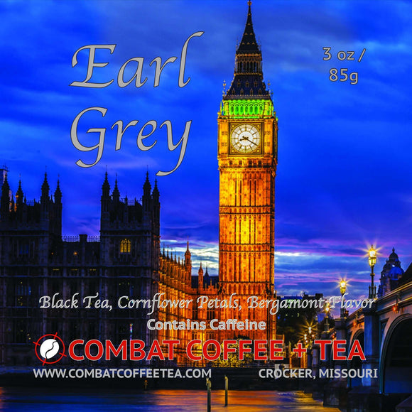 Earl Grey - Loose Leaf - 3oz