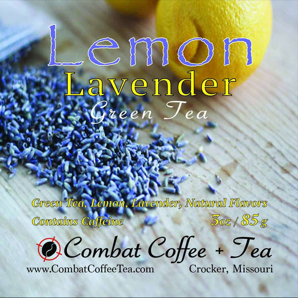 Lemon Lavender Green Tea - Loose Leaf - 3oz