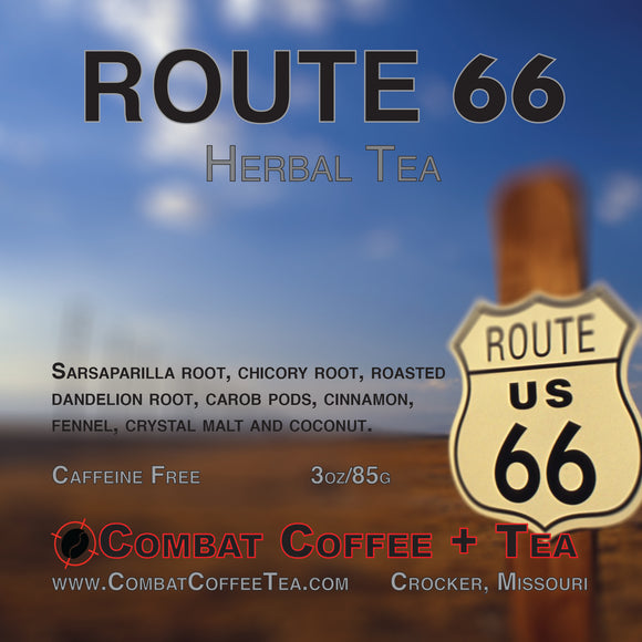 Route 66 Herbal Tea (Caffeine Free) - Loose Leaf - 3oz