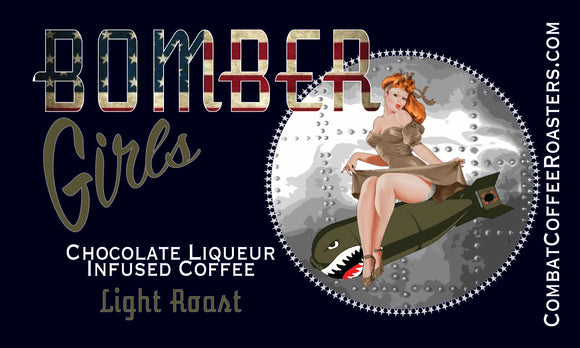 Bomber Girls - Chocolate Liqueur Infused Coffee - Light Roast