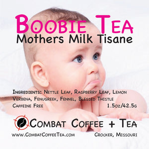 Boobie Tea - Mothers Milk Tisane - Loose Leaf - 1.5 oz