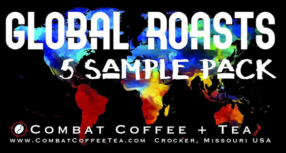 Global Roasts - 5 Sample Pack