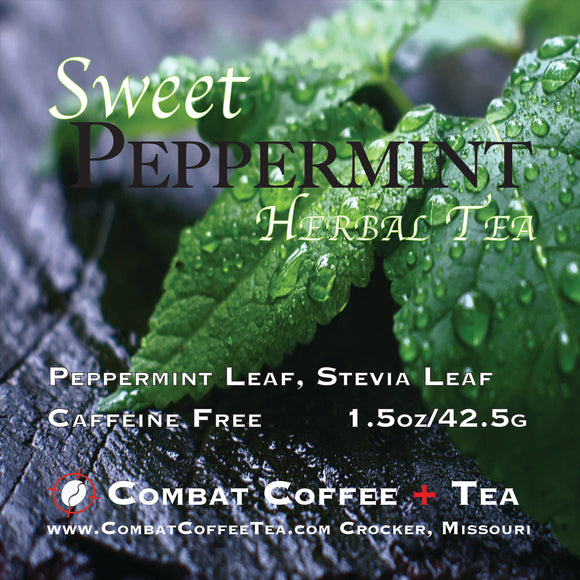 Sweet Peppermint Herbal (Caffeine Free)- Loose Leaf - 1.5oz