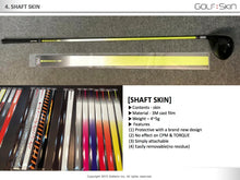 GOLFSKIN - Shaft - one size fits all