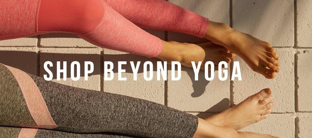 Featured Brand: BEYOND YOGA - The Salty Babe