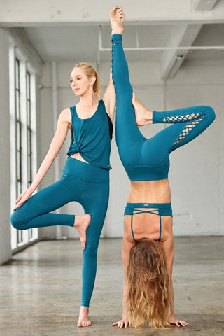 Alo Yoga Airbrush Legging Legion Blue