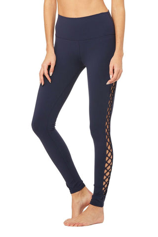 Alo Yoga Interlace legging navy