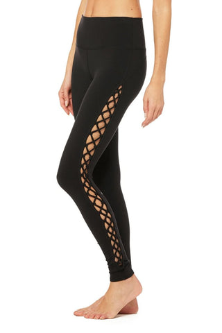 Alo Yoga Interlace Legging Black