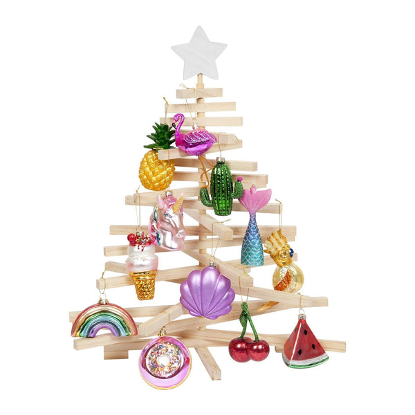 Sunnylife Festive Holiday Ornament- Rainbow