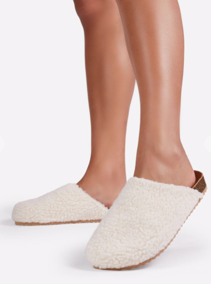 Teddy Sherpa Clogs
