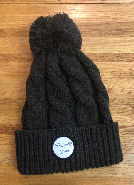 The Salty Babe cable knit pompom beanie - The Salty Babe