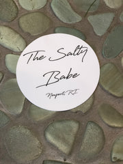 The Salty Babe sticker