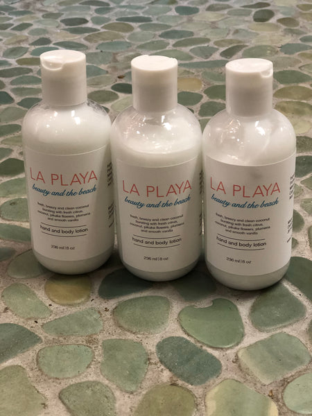 La Playa body lotion - The Salty Babe