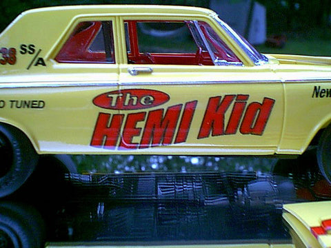 Inkjet Decals by Lance Norman The Hemi Kid 3