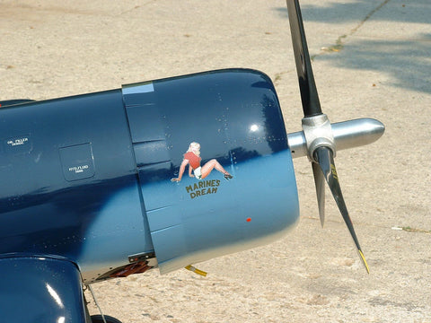 Model F4U-1A Corsair Airplane Decals by Gary Webb 4