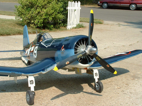 Model F4U-1A Corsair Airplane Decals by Gary Webb 3