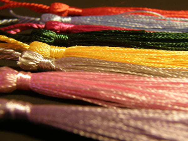 Bookmarker Tassels Assortment Classic Colors