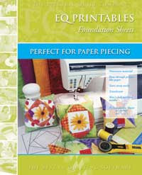 Electric Quilt Printable Foundation Sheets