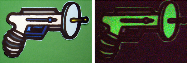 Glow-in-the-Dark Inkjet Shrink
