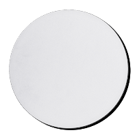 7 inch diameter circle template - mouse pads round blank white 7 1 2 diameter 1 4 thick
