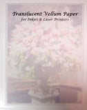 Printable Translucent Paper