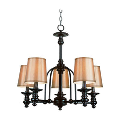 Lightingelectrical page 11 next door liquidators bel air lighting stewart 5 light rubbed oil bronze chandelier with fabric shades mozeypictures Choice Image