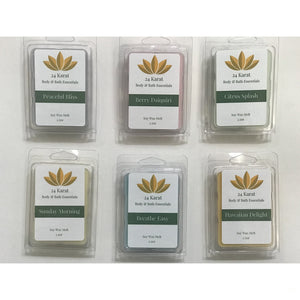 Soy Wax Melt Tarts - 24 Karat Body & Bath Essentials