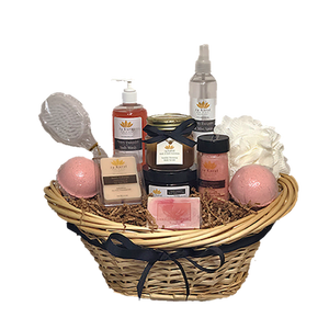 24 Karat Tailored Gift Basket - 24 Karat Body & Bath Essentials
