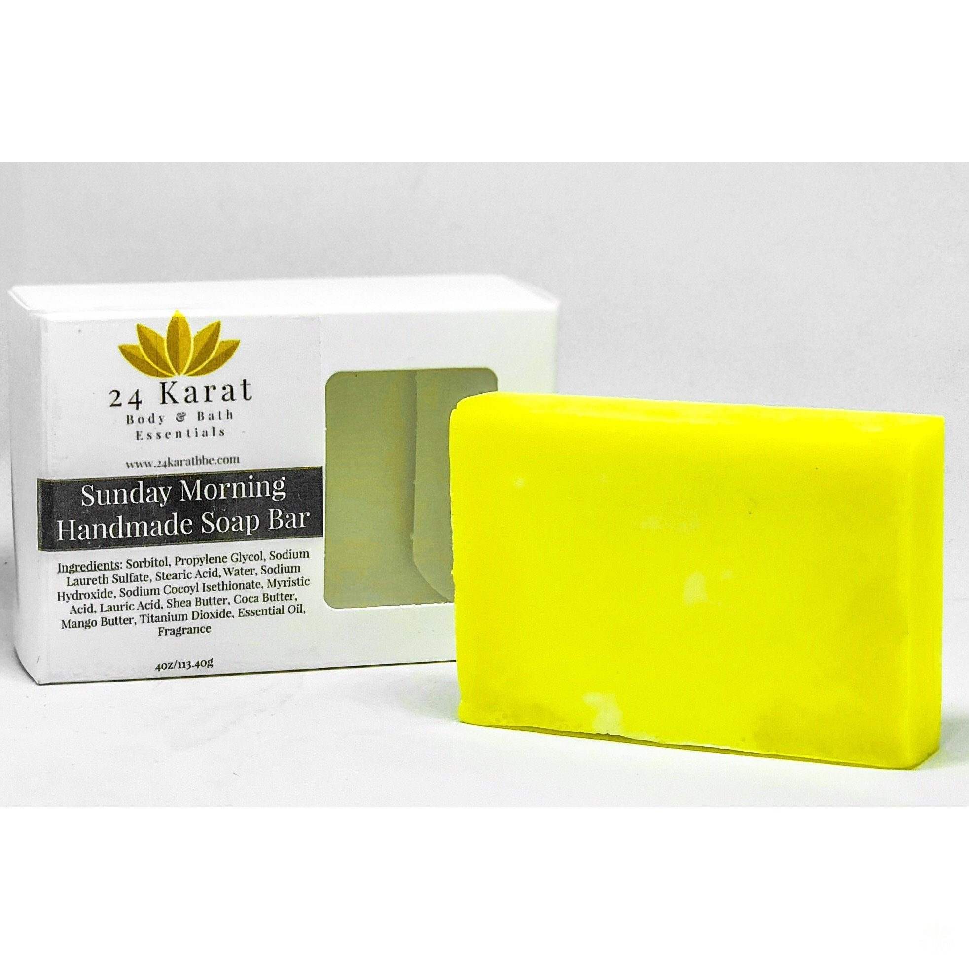 Triple Butter Handmade Soap Bar - 24 Karat Body & Bath Essentials