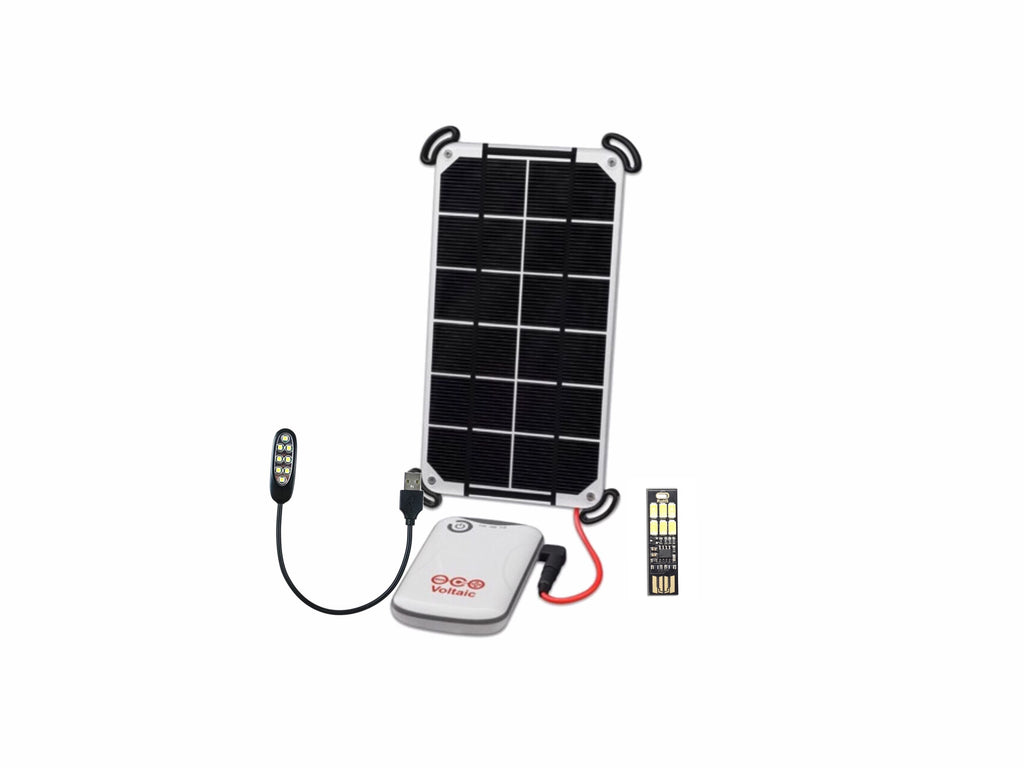Voltiac Systems Solar Kit with Lighting