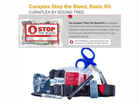 "Boundtree ""Stop the Bleed"" IFAK kit standard"