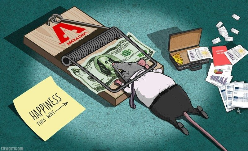 Blackfriday and Steve Cutts story